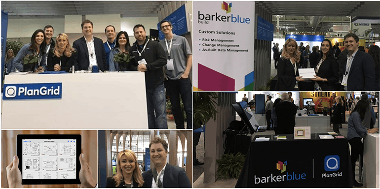 BarkerBlue at GreenBuild17 with PlanGrid