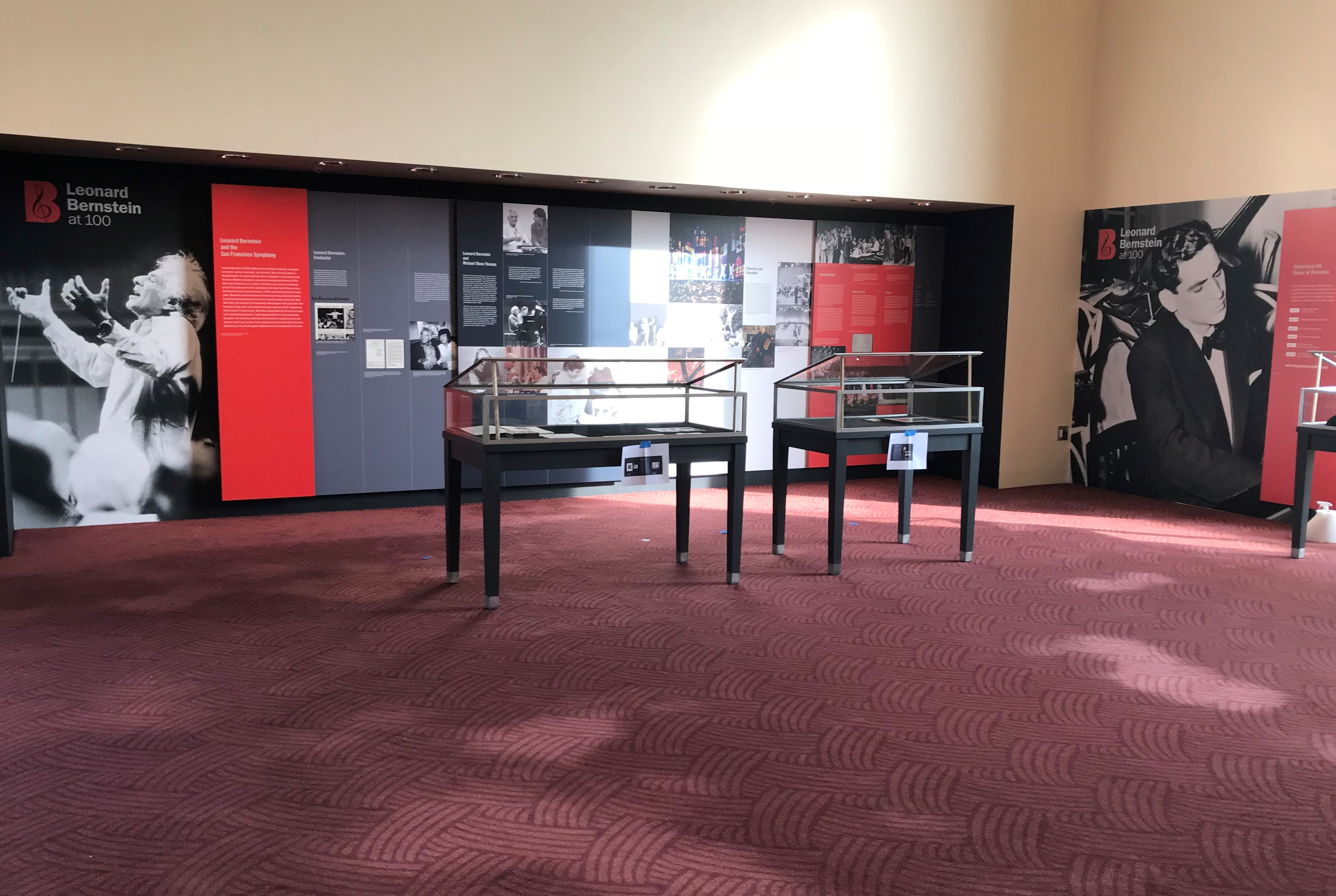 Leonard Berstein SF Symphony Exhibit