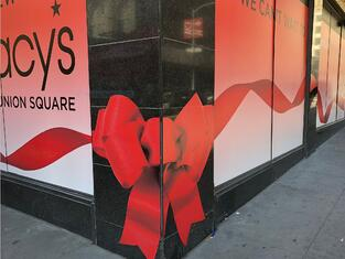 Macys Union Sq. Holiday 3D Bow by BarkerBlue-1