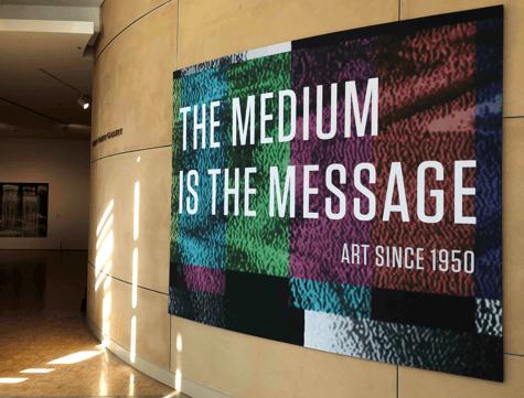Medium Message Sign - Cantor Arts Center