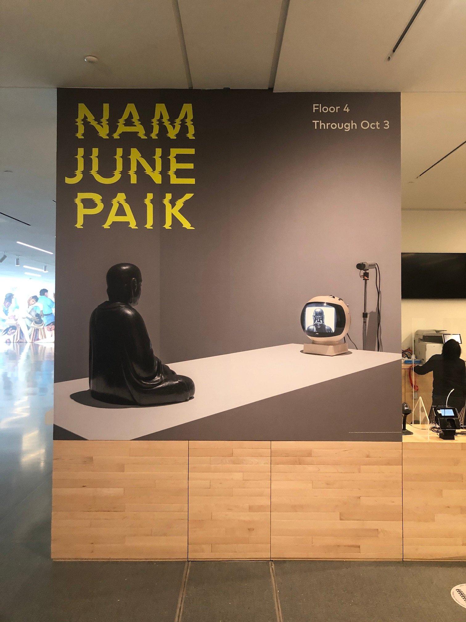 Nam Jun Paik SF MOMA 5.5.21 - 5